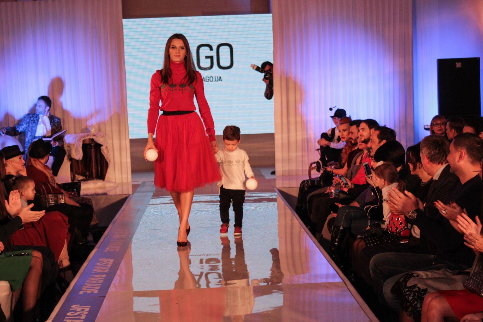Украинские звезды вышли на сцену вместе со своими детьми