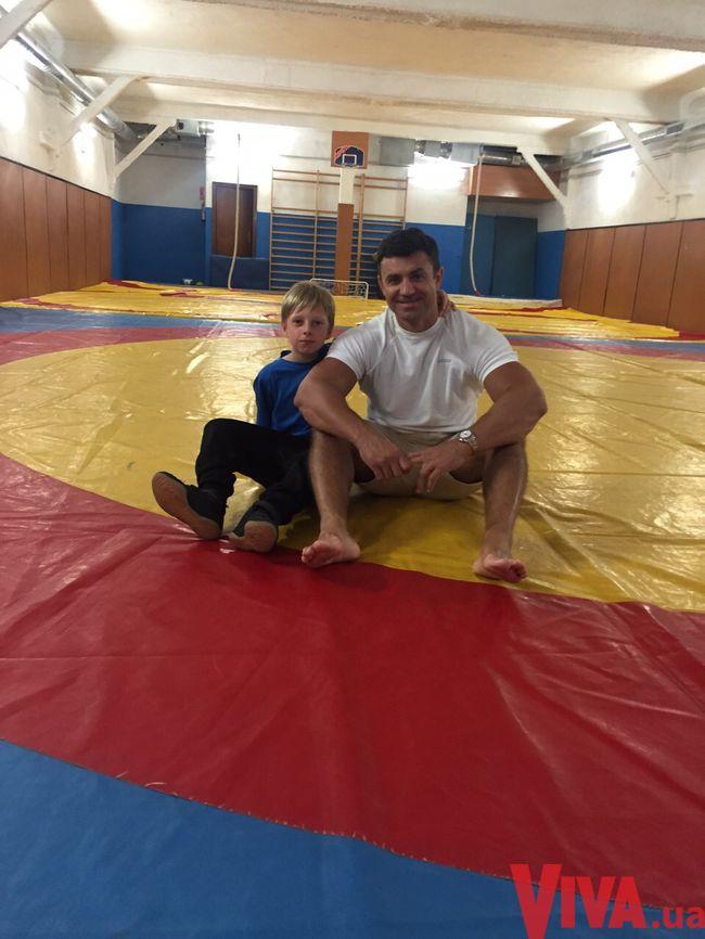 Николай Тищенко и его сын Даниил