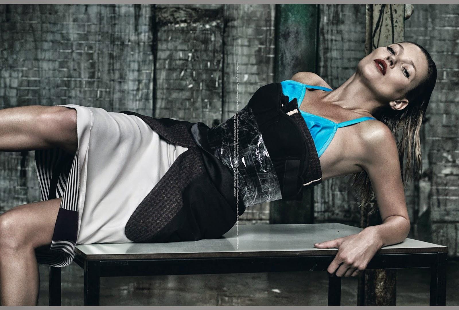 Кейт Мосс в новой фотосессии