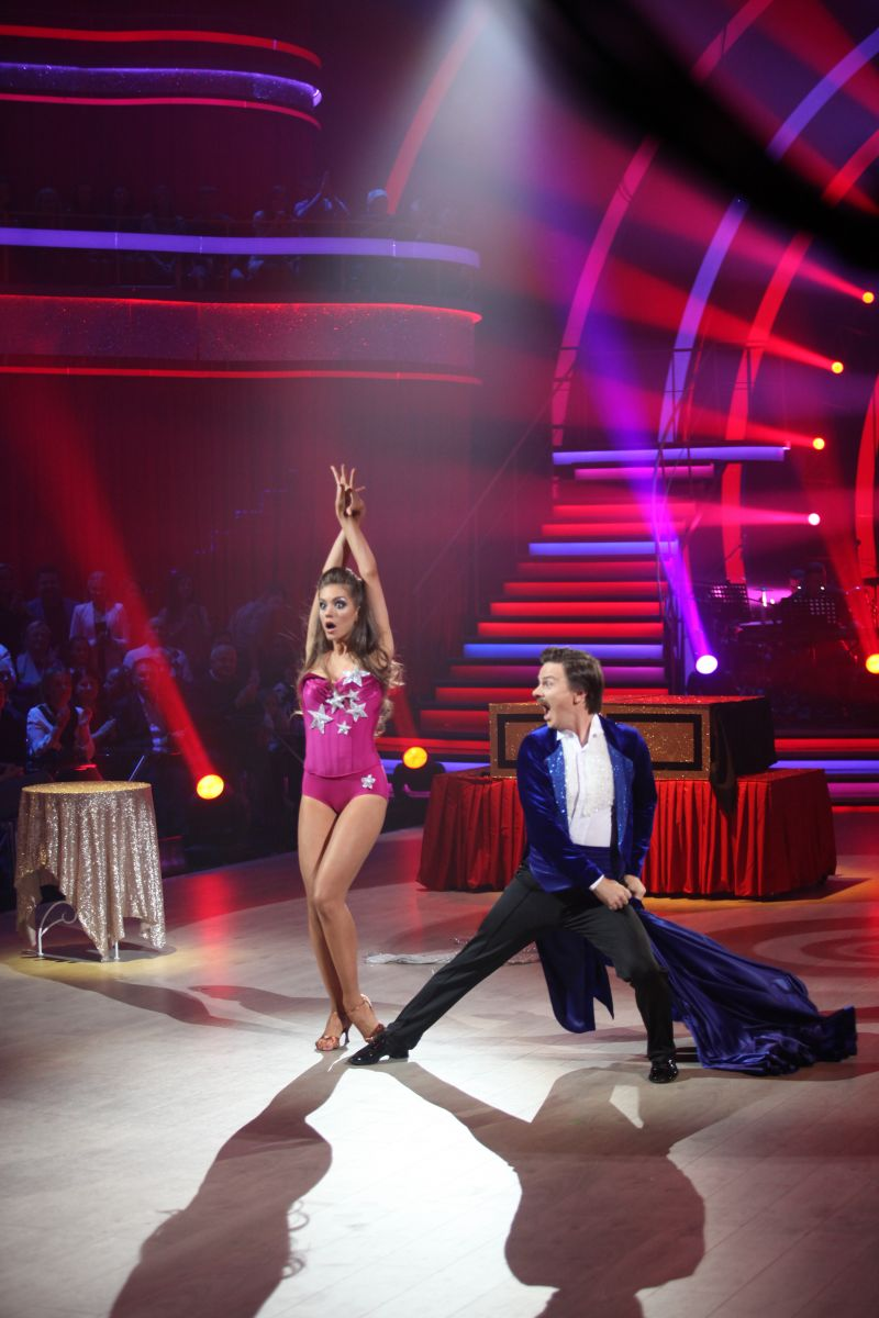 Дмитрий Комаров на Танцах со звездами