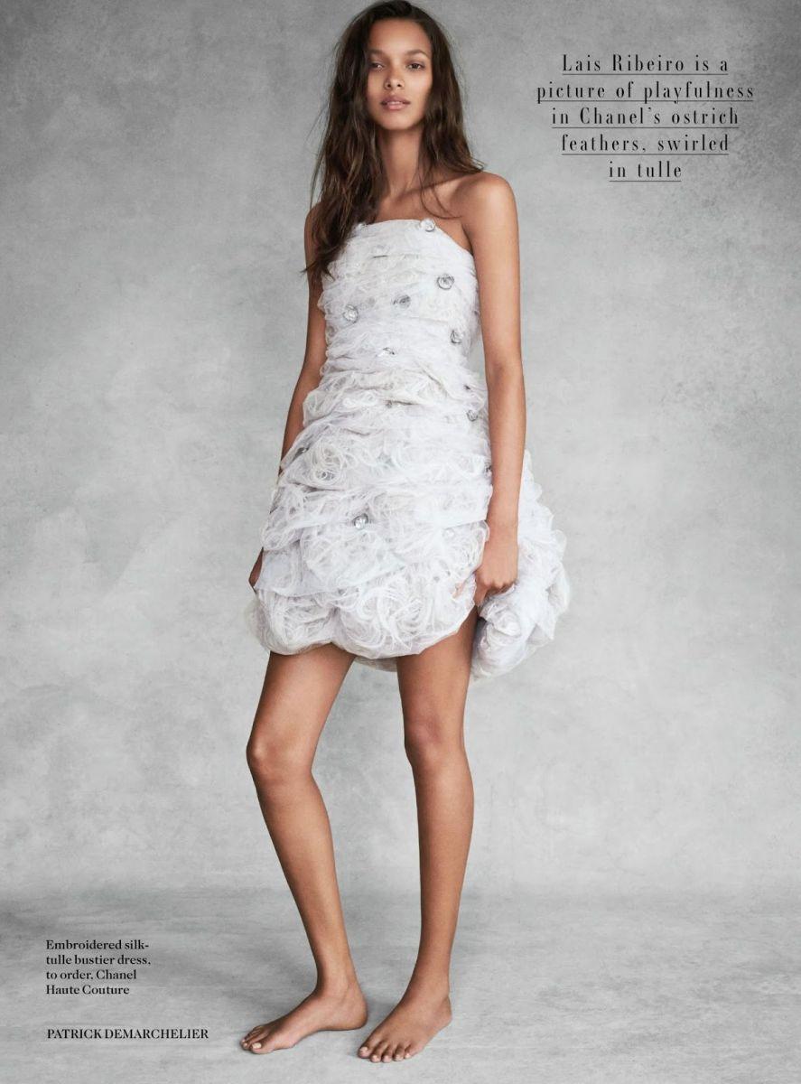 Роскошные ангелы Victorias Secret позируют топлесс