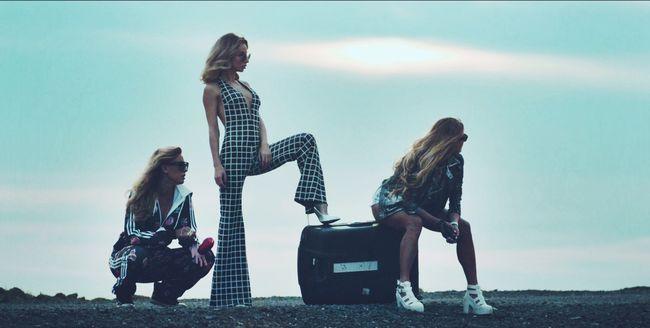 Loboda с подругами снялась в трэш-видео