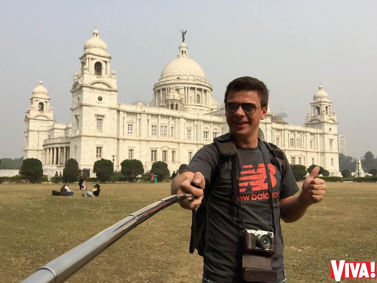 Дмитрий Комаров провел зимний отпуск в Индии