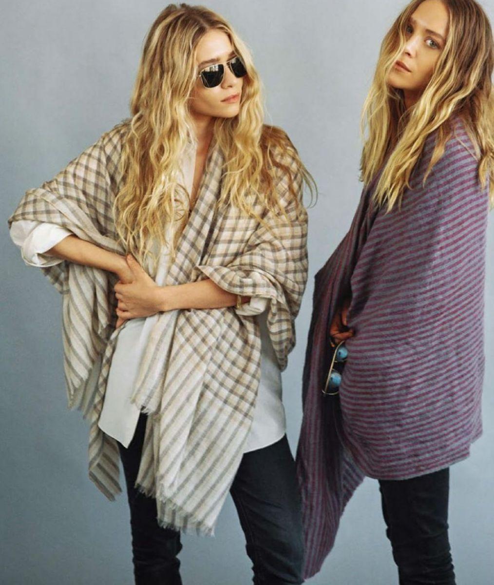 Стильные сестры Мэри-Кейт и Эшли Олсен в новом фотосете