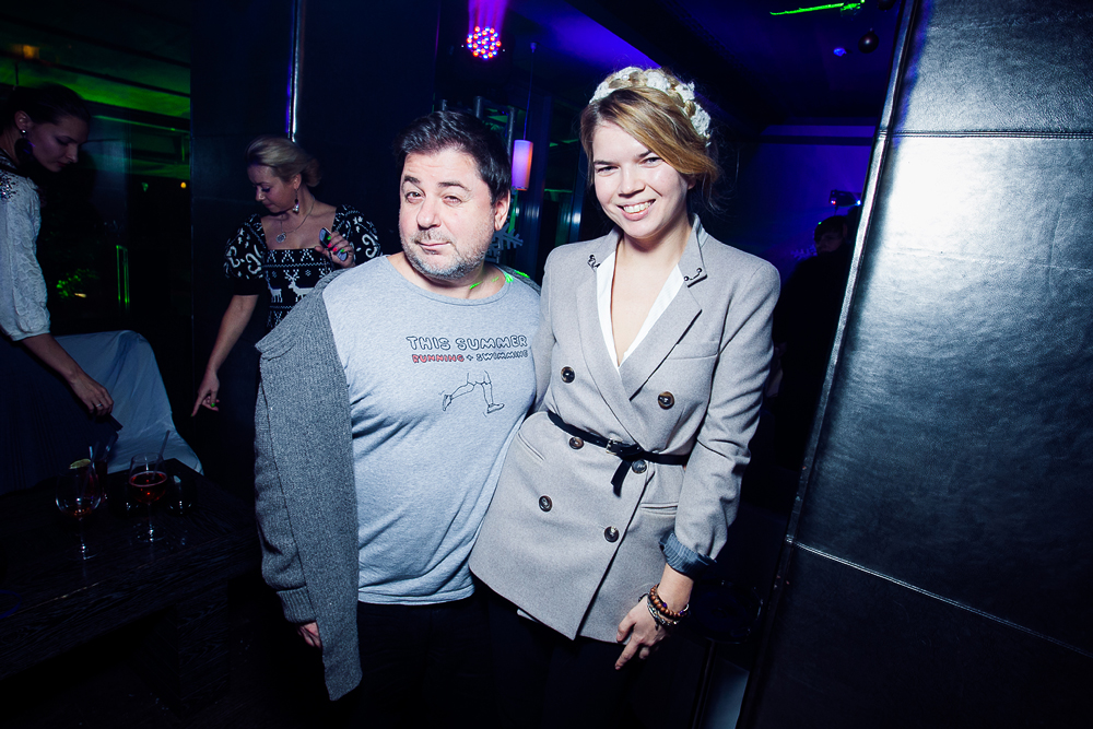 сестра Веры Брежневой Виктория и Александр Цекало