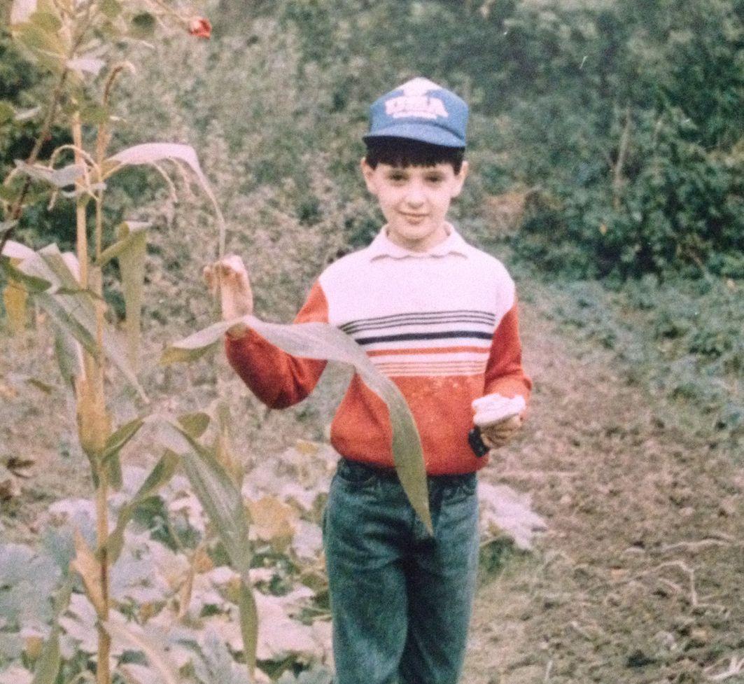 Виталий Козловский в детстве