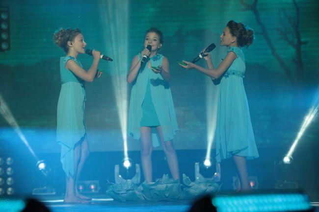 Участники Детского Евровидения 2014 от Украины трио Sympho-Nick