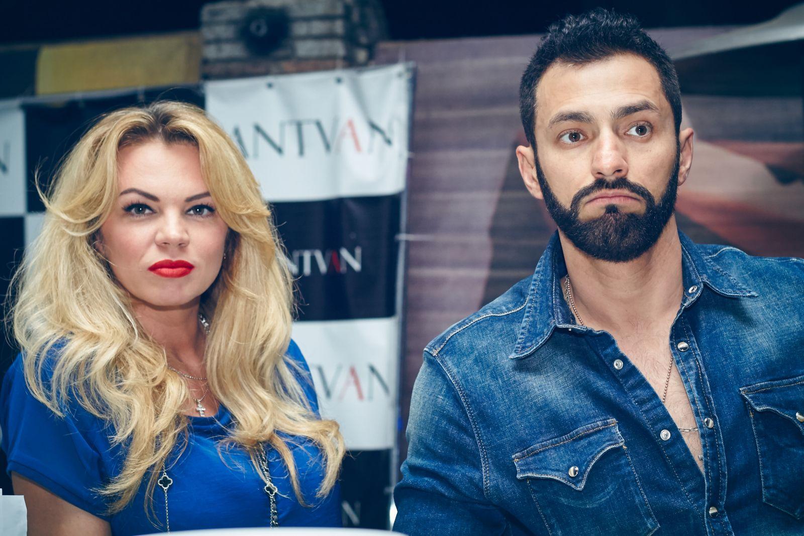 Андрей Кише с женой Оксаной