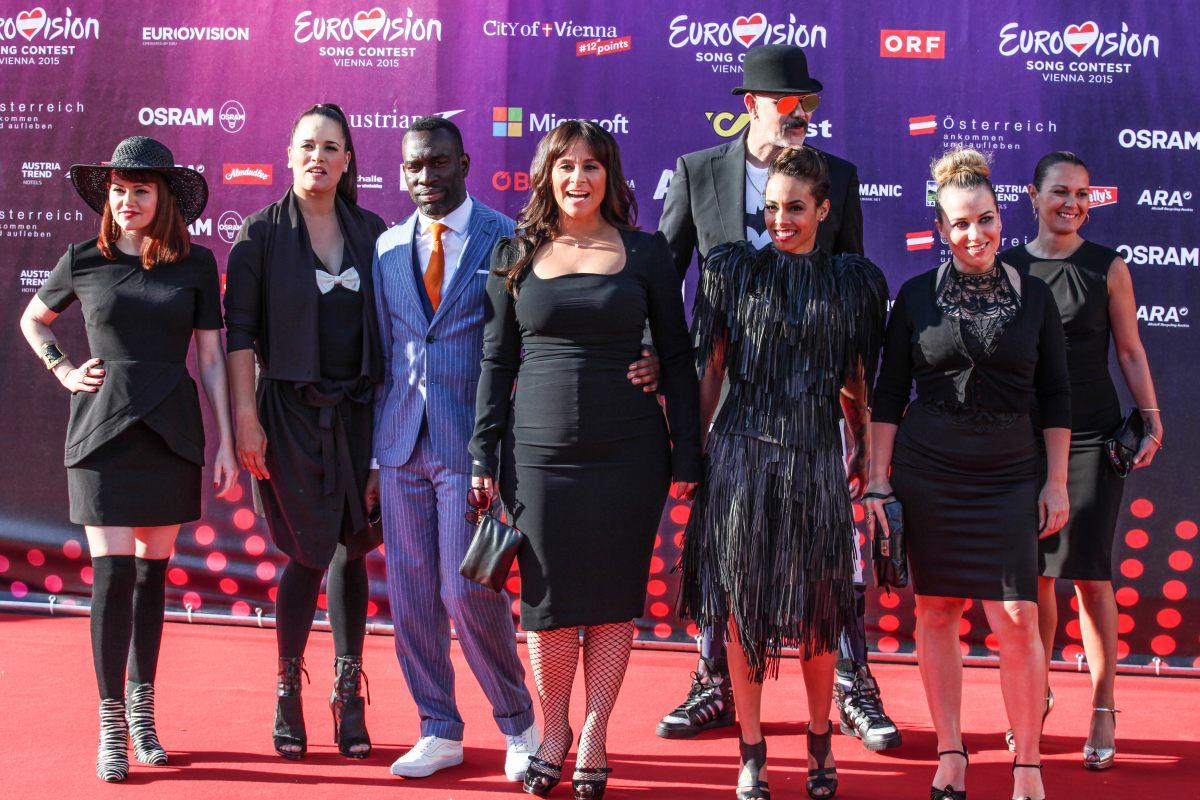 Открытие Евровидения 2015: участники на красной дорожке