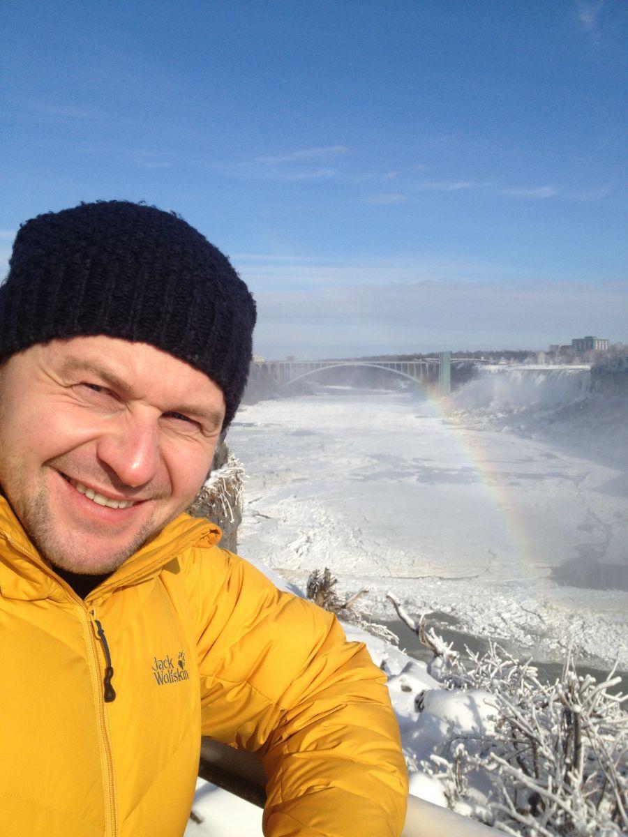Павел Табаков в Канаде
