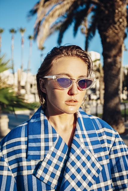 Layah снялась в пляжной фотосессии в Лос-Анджелесе