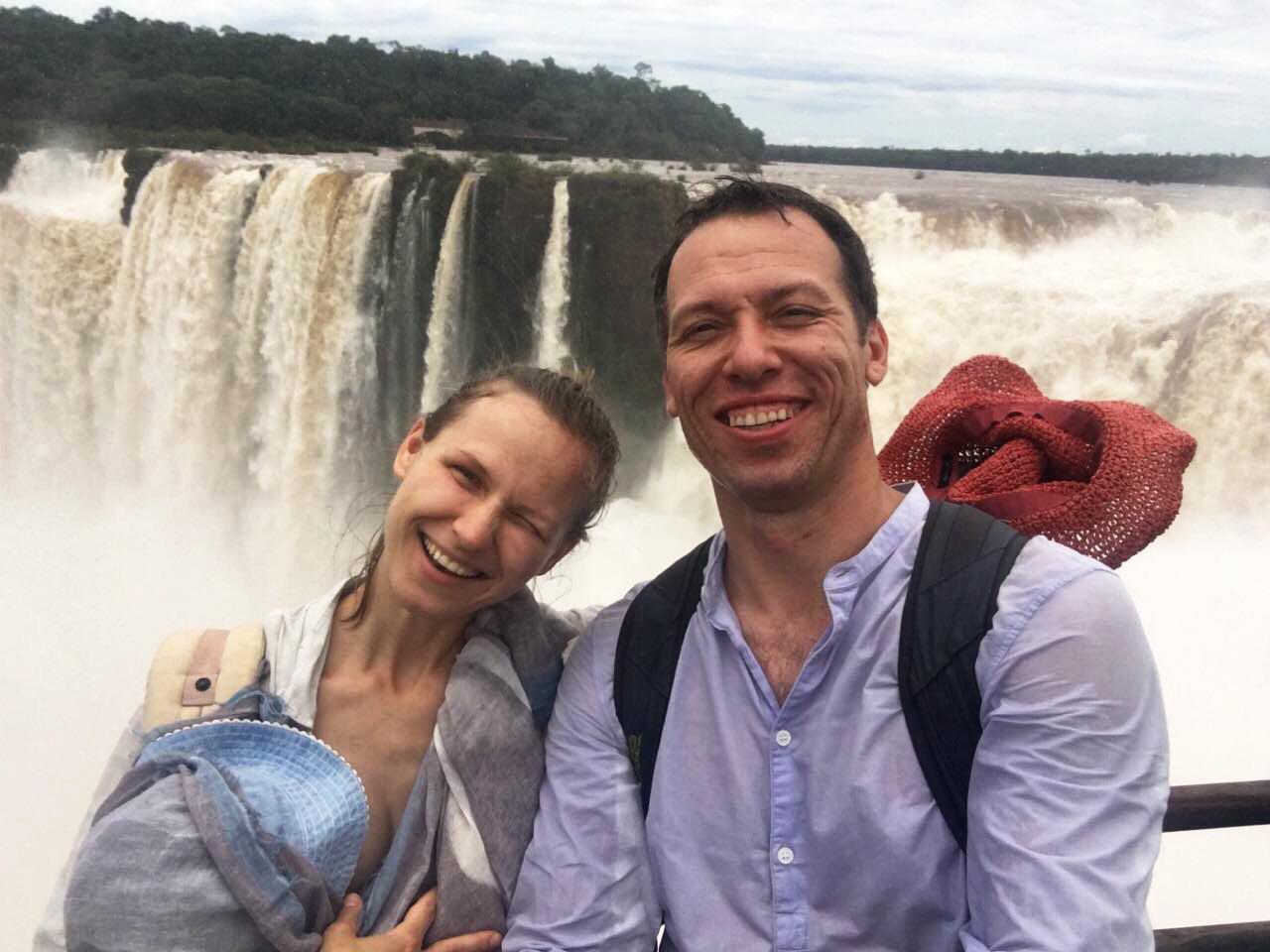 Константин Томильченко с женой и дочкой побывали в Аргентине