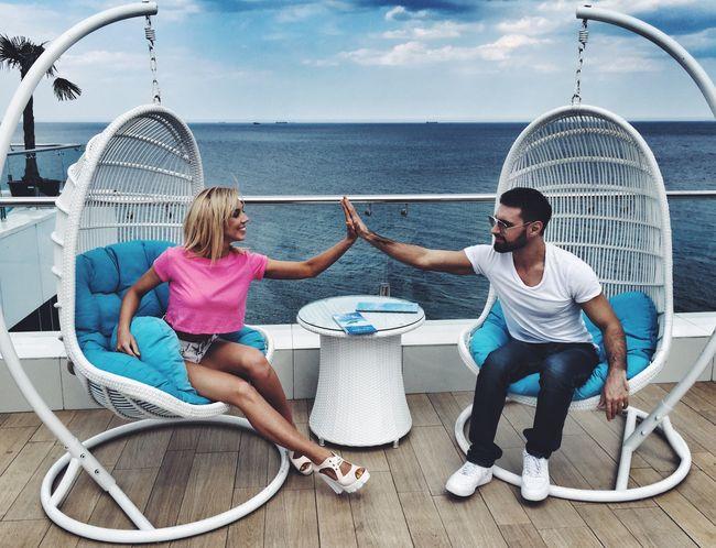 Виталий Козловский устроил  романтический уикенд на море