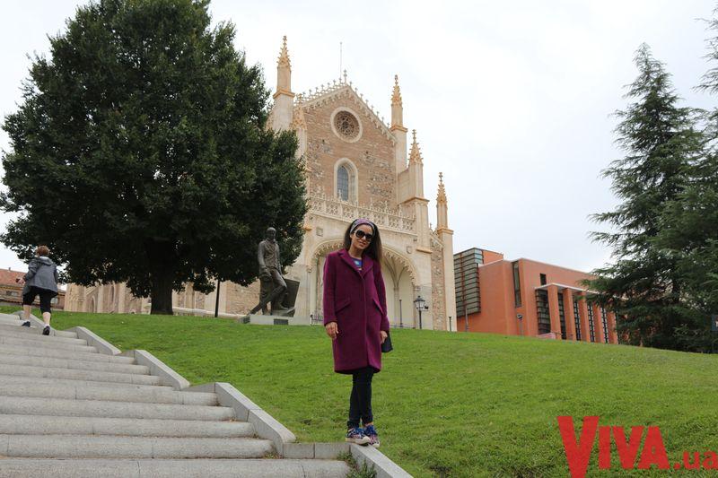 Злата Огневич побывала в Испании