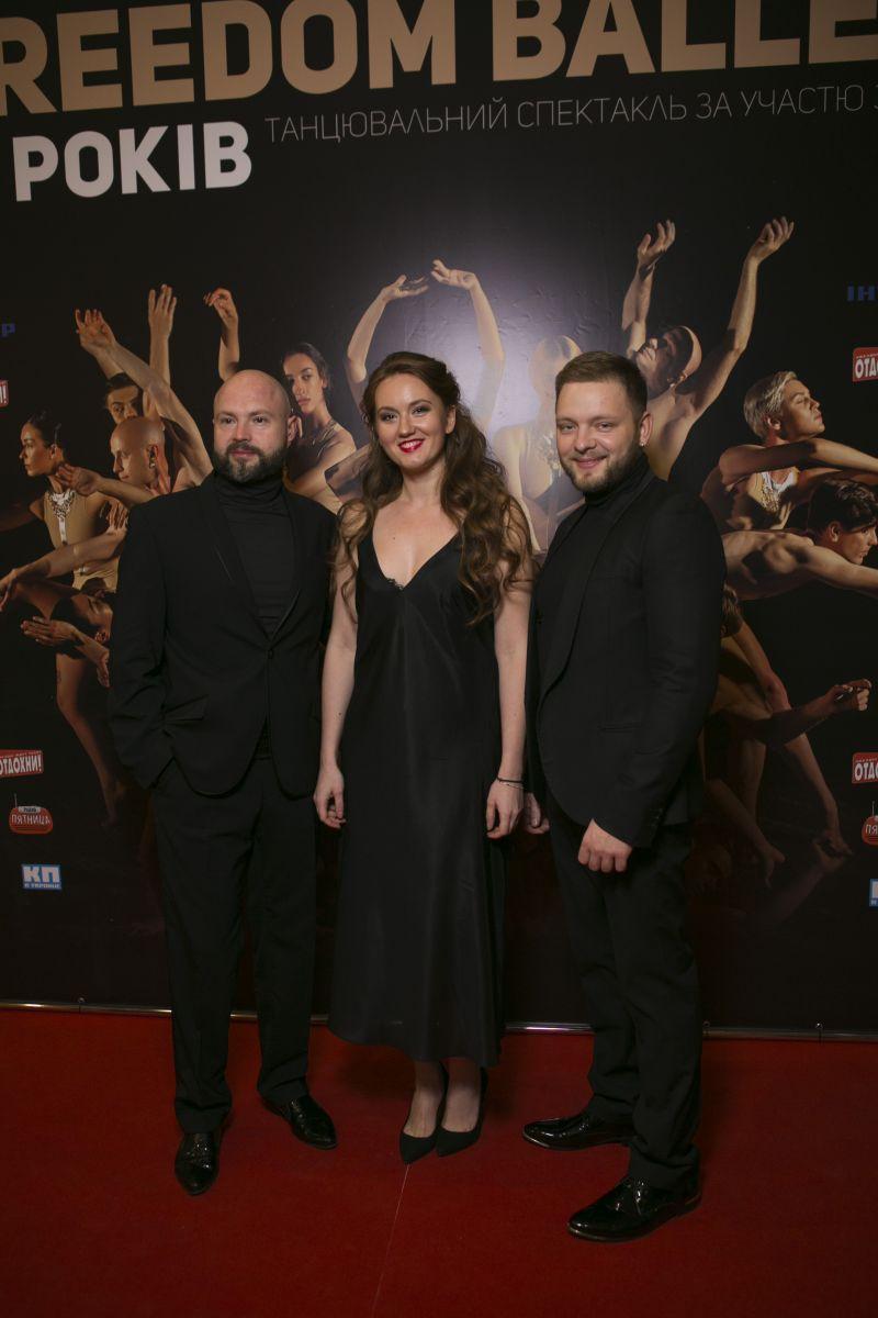 Екатерина Кухар и Александр Стоянов исполнили страстный танец в сопровождении виртуоз-оркестра Kiev Tango Project