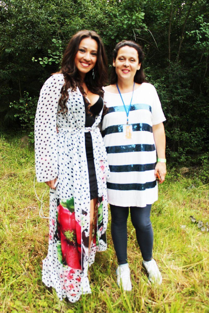 Иванна Слабошпицкая и Наталка Карпа