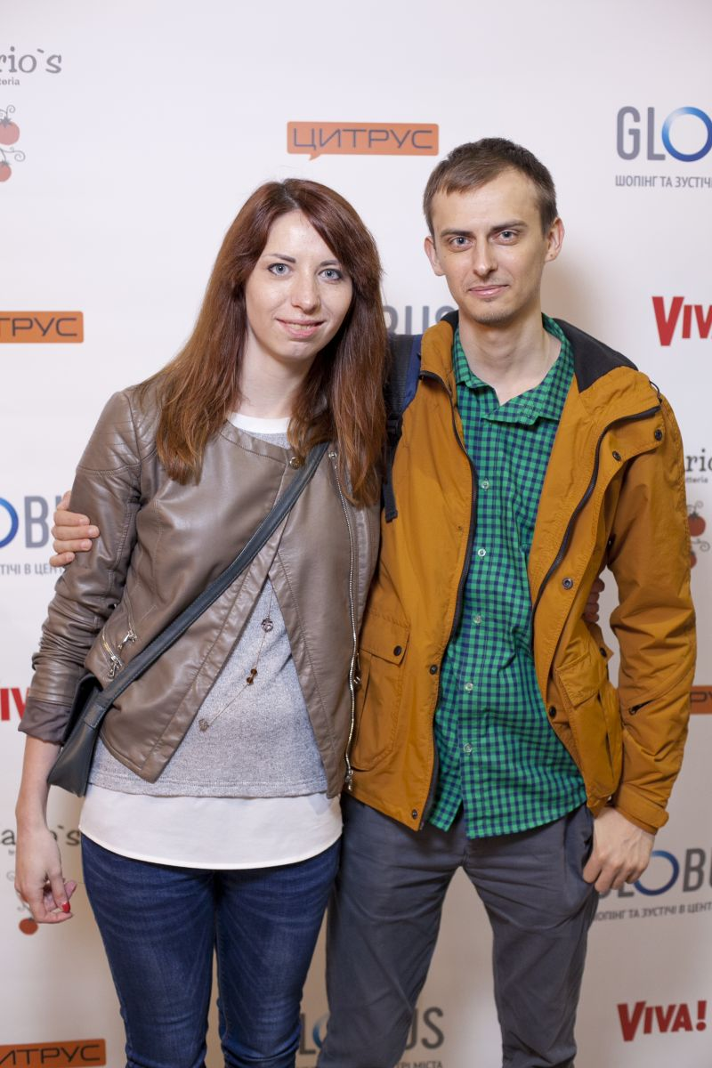 Мария Ткач (SCA HYGIENE UKRAINE LLC) с другом