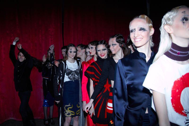 Показ коллекции Жана Грицфельдта Circus of Life в рамках Ukrainian Fashion Week
