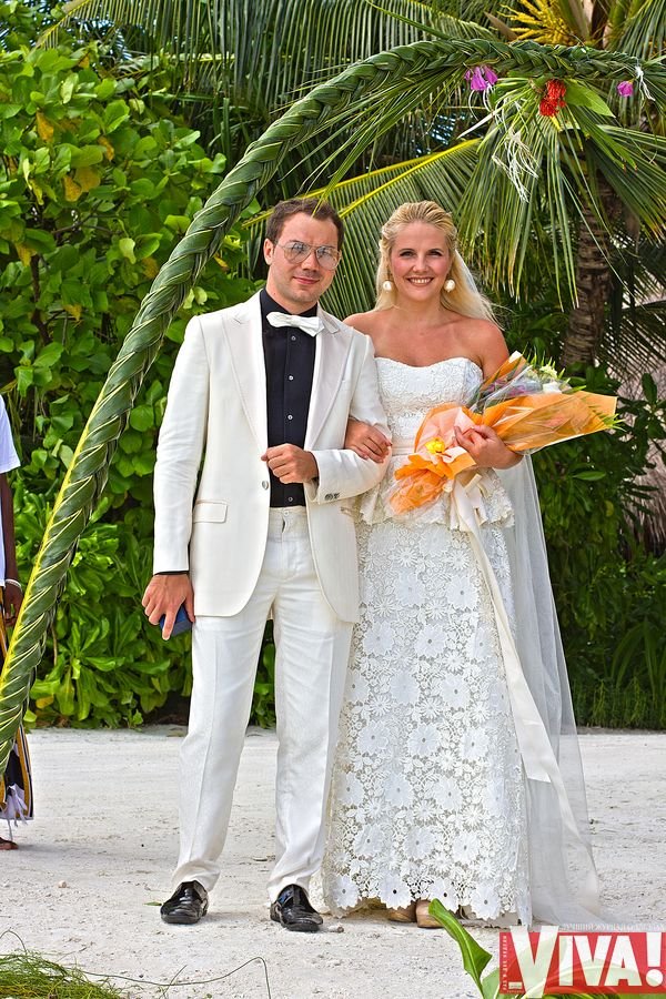 Андре Тан и его жена Алина Харечко