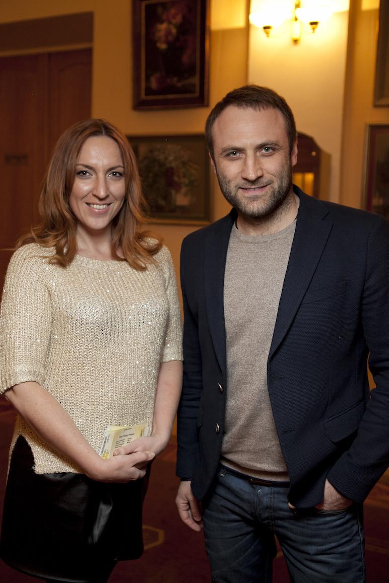 Сергей Гладыр и Яна Прядко