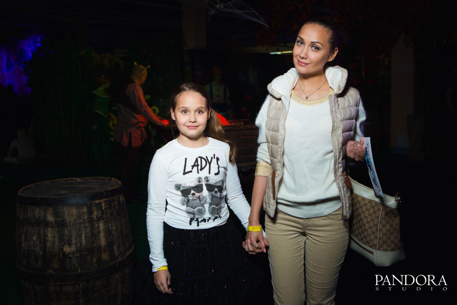 Евгения Власова с дочерью Ниной