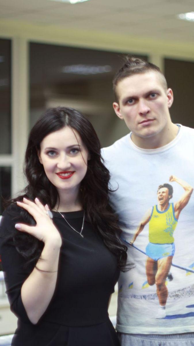 Соломия Витвицкая и Александр Усик