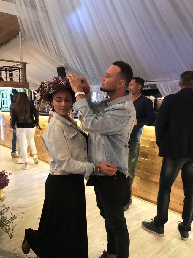 Руслан Квинта и Анастасия Кумейко на праздновании Ивана Купала
