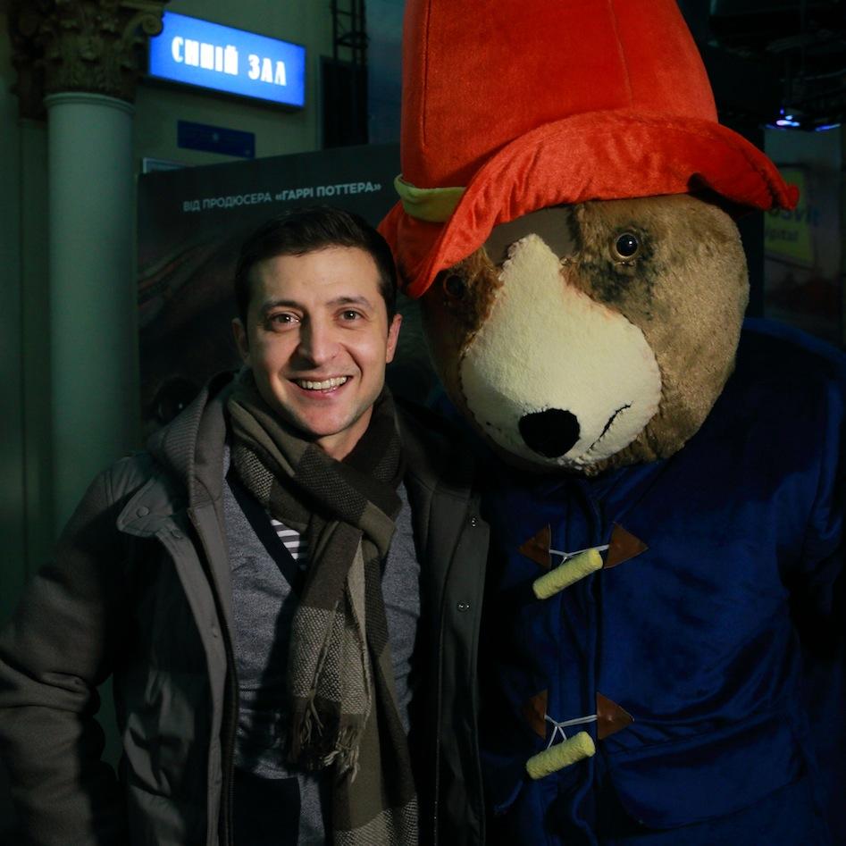 Владимир Зеленский представил новый семейный блокбастер Приключения Паддингтона