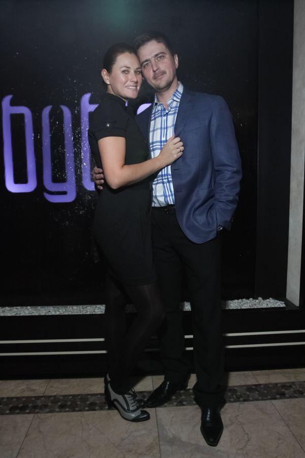 DJ Паша с женой