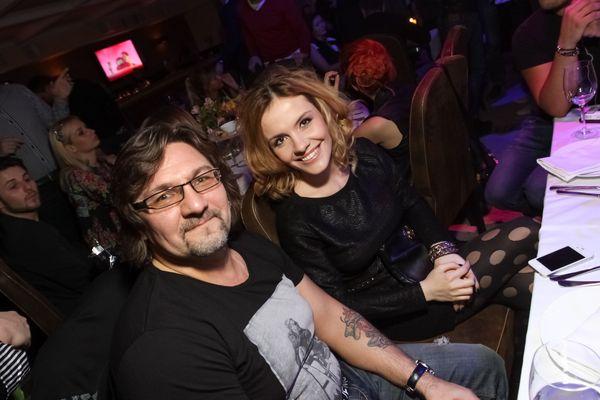 Сергей Кузин и Эрика