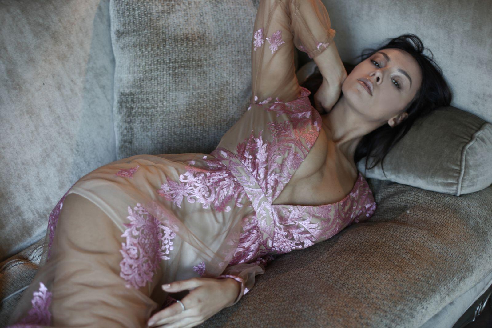 Бывшая солистка группы Nikita, фотомодель и звезда журнала Playboy Юлия Бричковская