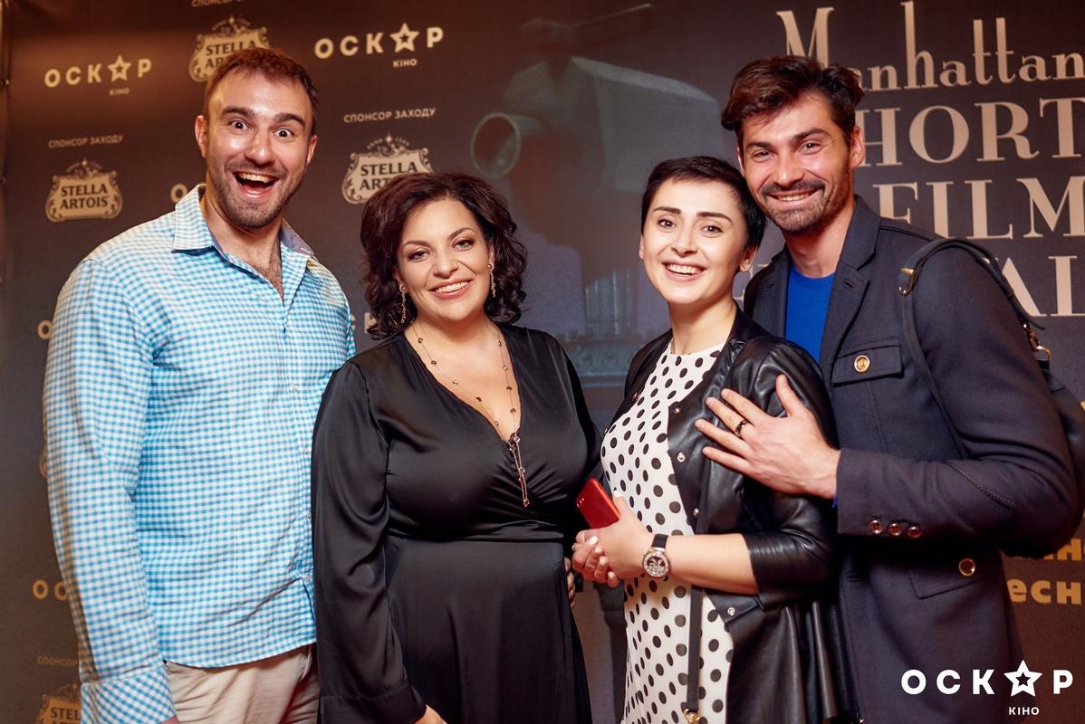 Наталья Холоденко и Виталий Загоруйко сходили вместе на киновечеринку
