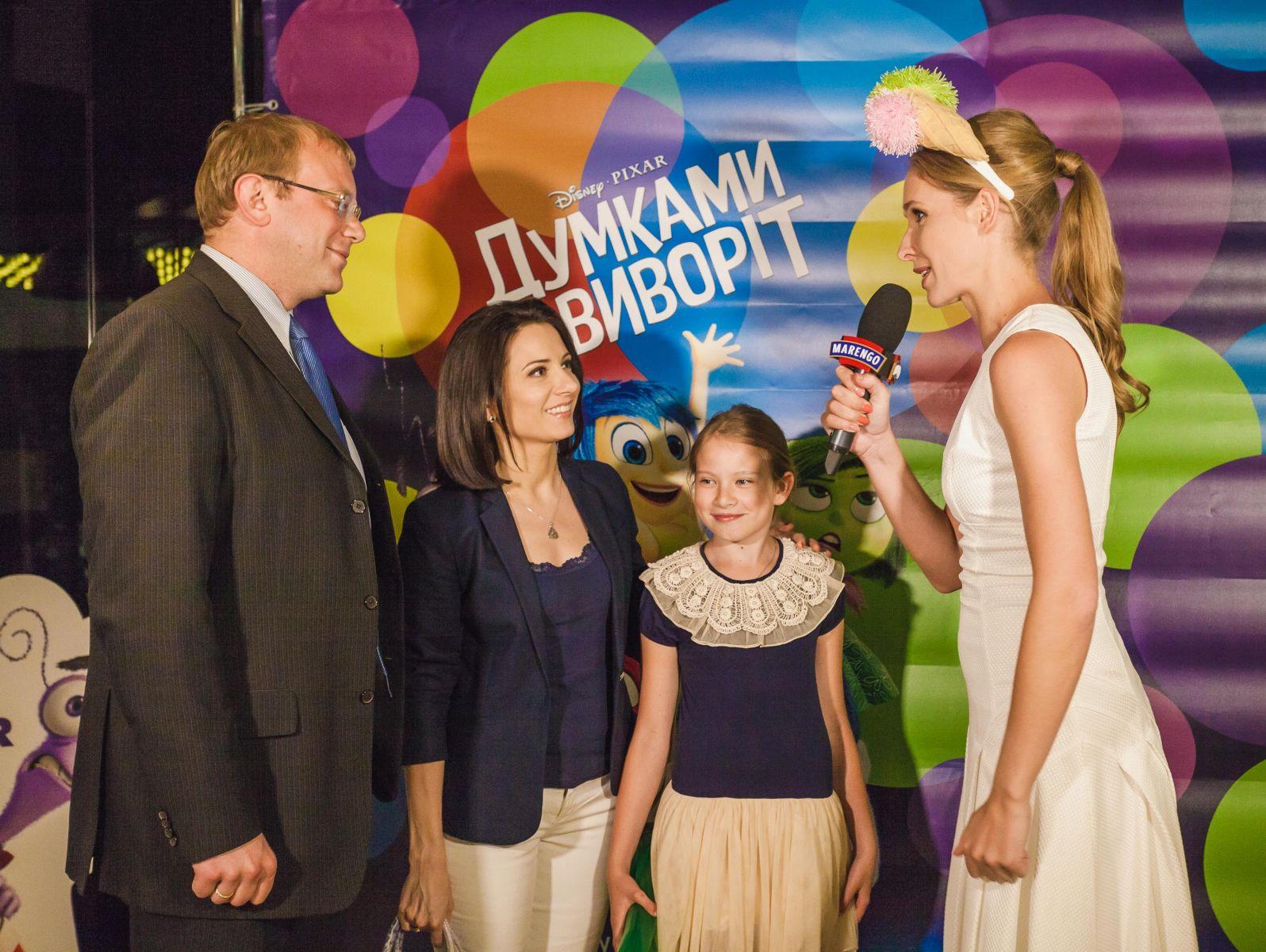 Андрей Шевченко с женой Анной Гомонай и дочкой Маричкой