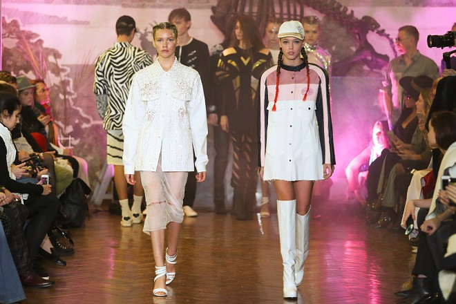 Показ Жана Грицфельдта в рамках Ukrainian Fashion Week 2016