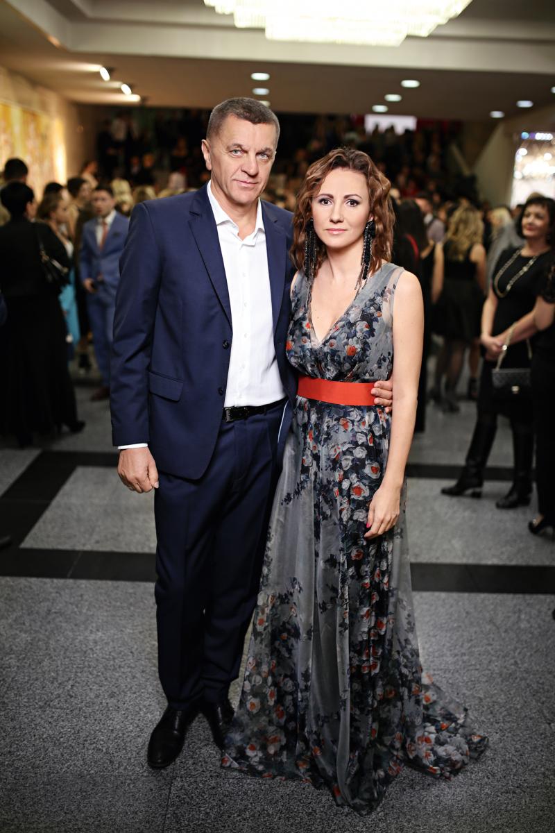 Генеральный директор ИД «Эдипресс-Украина» Инна Катющенко с супругом Олегом