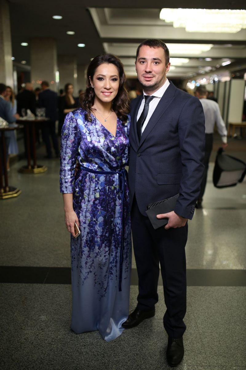 Наталка Карпа с супругом