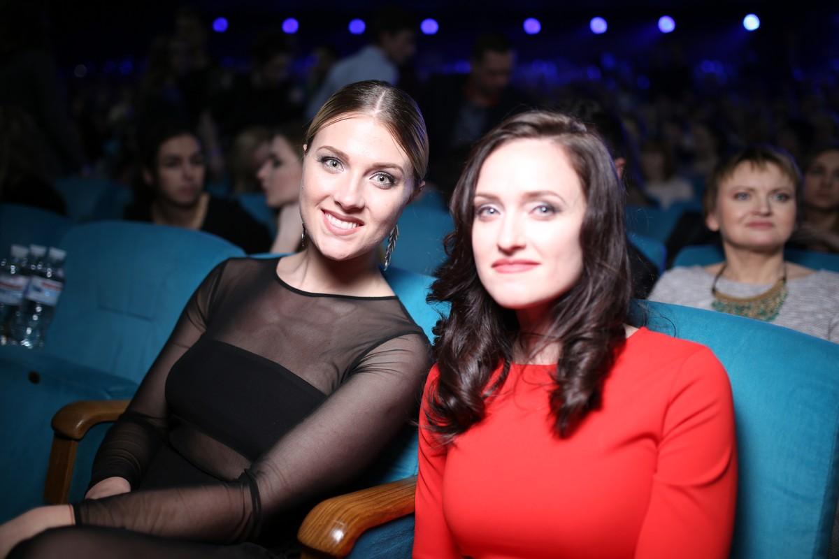 Ольга Харлан с сестрой