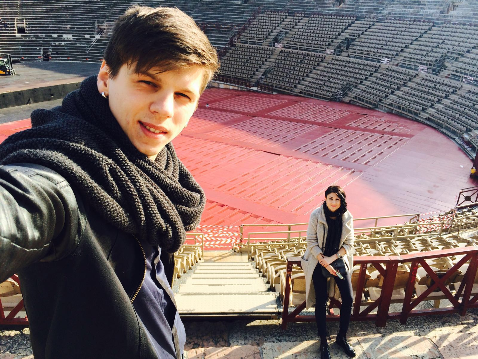 Александр Лещенко и его жена Лина Верес отпраздновали годовщину свадьбы в Италии