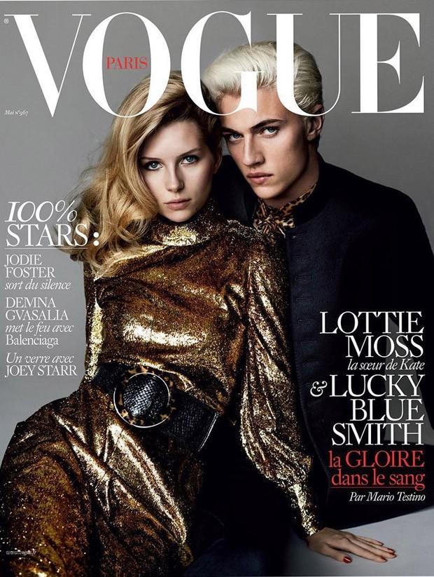 18-летняя сестра Кейт Мосс впервые снялась для Vogue