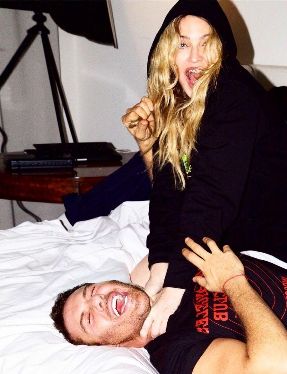 Мадонна снялась в необычной фотосессии для Love Magazine