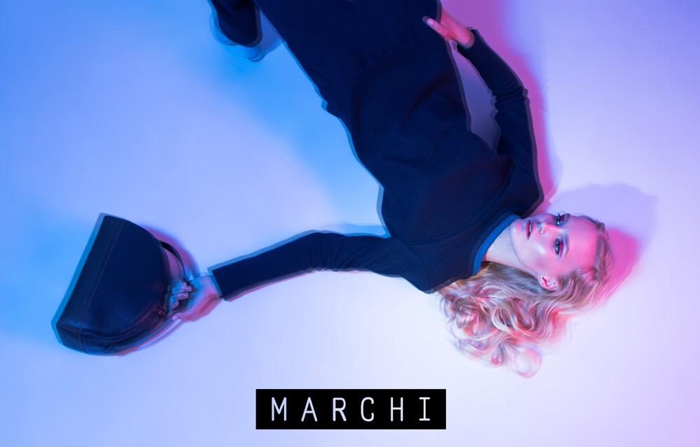Накануне Ukrainian Fashion Week бренд Marchi представил новый лукбук