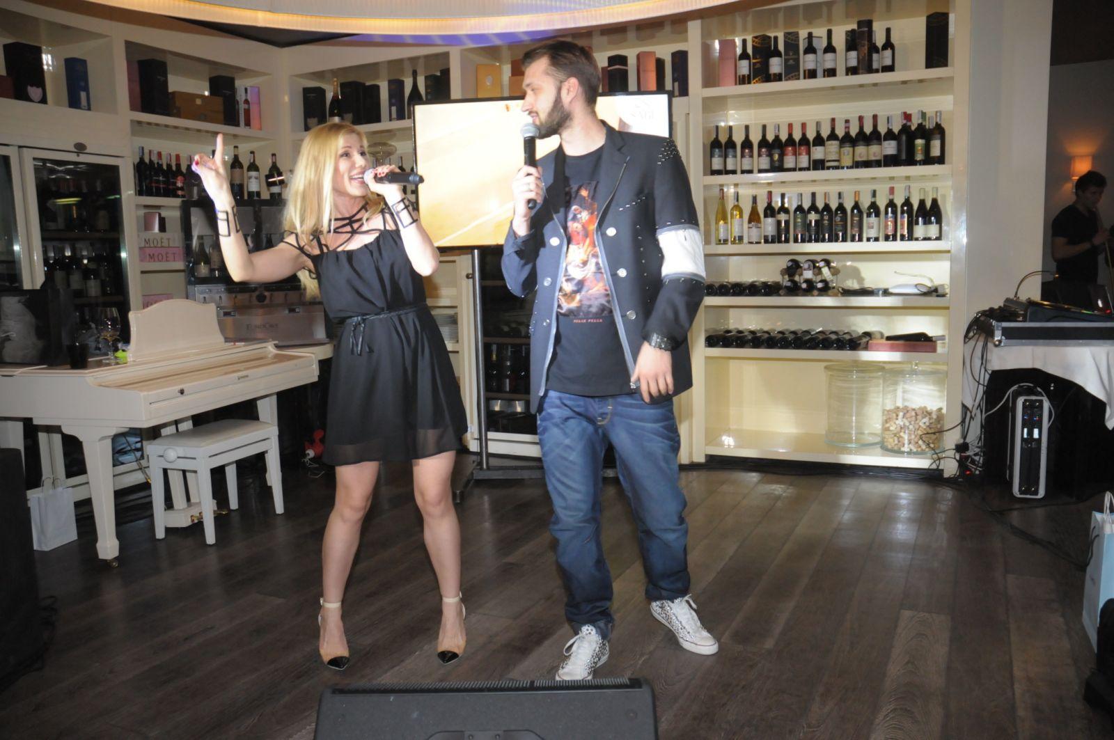 Тамерлан,  Алена Омаргалиева, Дмитрий Ступка с невестой на ангельской вечеринке