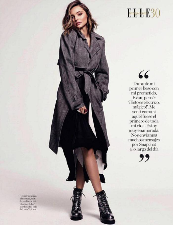 Девушка-осень: Миранда Керр блистает в ноябрьском Elle