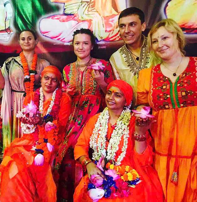 Наталья Могилевская улетела в Индию