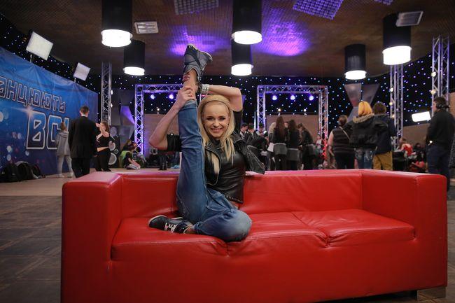 Лилия Ребрик демонстрирует прекрасную спортивную форму