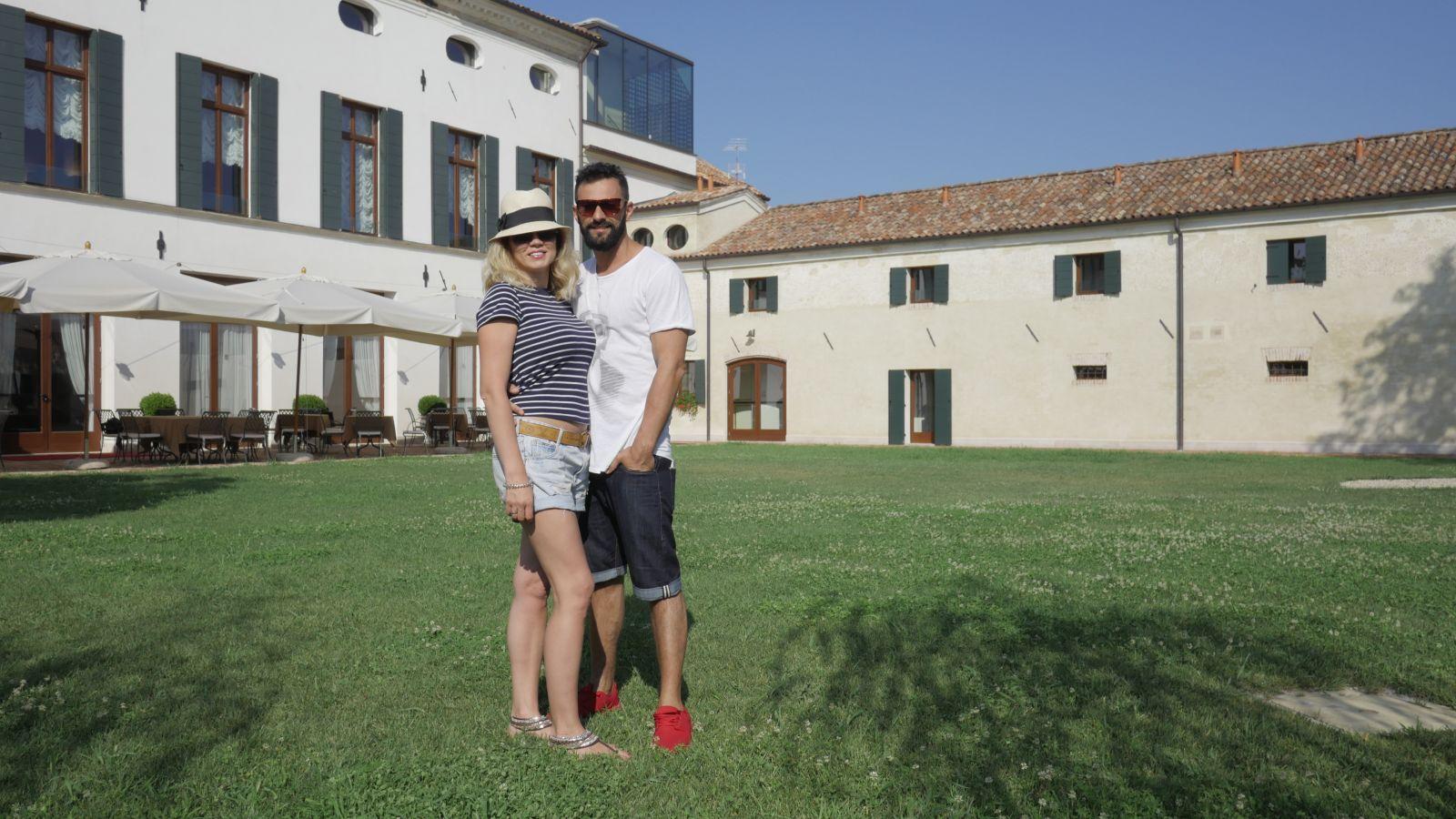 Андрей Kishe и его жена отметили 20-летие свадьбы