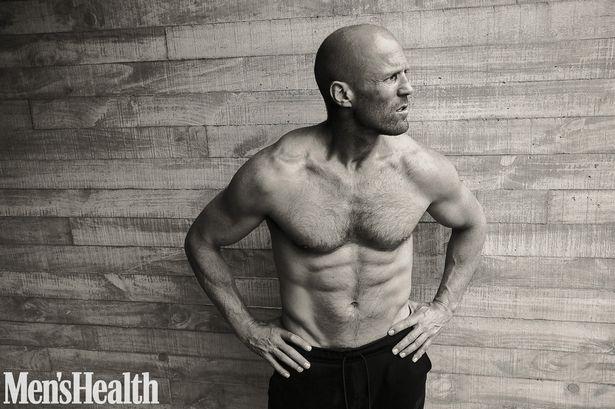 Мужественный и сексуальный: Джейсон Стэтхэм  украсил обложку Men's Health