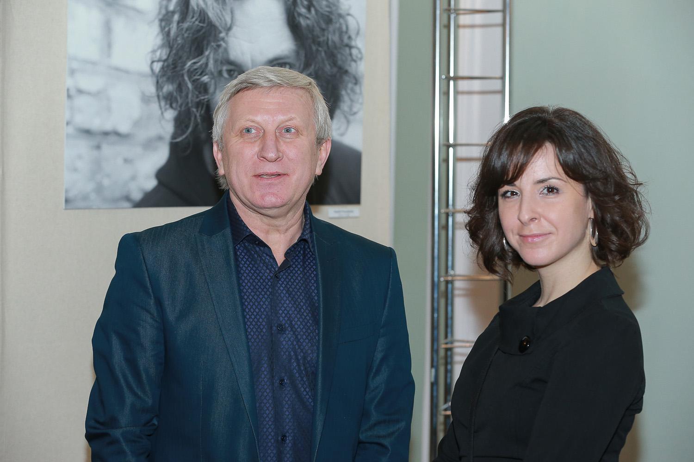 Владимир Горянский и Елена Божко
