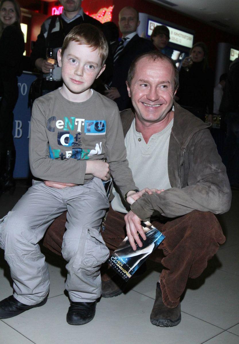 Андрей Панин с сыном