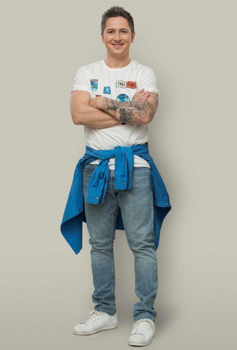 Александр Педан сделал себе огромную татуировку